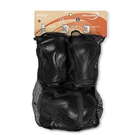 Защита для катания на роликах (комплект) Rollerblade Pro 3 Pack серая, размер - S