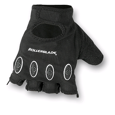 Перчатки защитные Race Rollerblade черные, размер - S