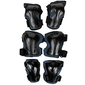 Фото 2 к товару Защита для роликов Rollerblade Pro 3 pack 2014, размер - XL