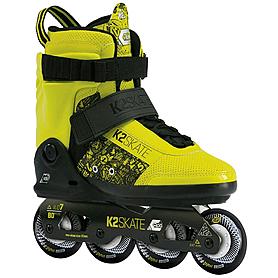 Фото 1 к товару Коньки роликовые K2 II Capo 2013 черно-желтые