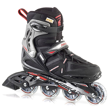 Коньки роликовые Rollerblade Spark Comp 2013 черно-красные - р. 41