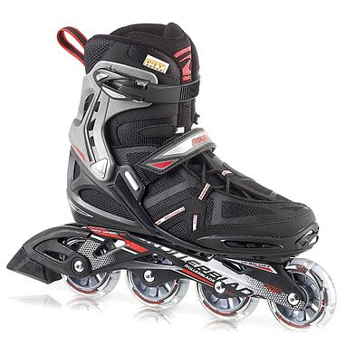 Коньки роликовые Rollerblade Spark Comp 2013 черно-красные - р. 44