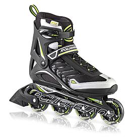 Фото 1 к товару Коньки роликовые Rollerblade Spiritblade Comp 2013 черно-зеленые