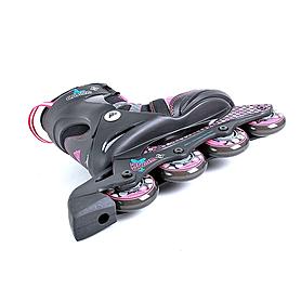 Фото 2 к товару Коньки роликовые детские K2 Charm BOA JR 2013 черно-розовые