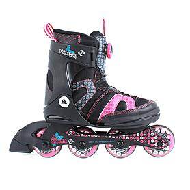 Фото 3 к товару Коньки роликовые детские K2 Charm BOA JR 2013 черно-розовые