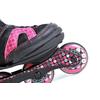 Коньки роликовые детские K2 Charm BOA JR 2013 черно-розовые - фото 4