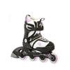 Коньки роликовые детские K2 Charm Pack 2013 черно-белые - р. 32-37 - фото 1
