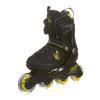 Коньки роликовые детские K2 SK8 Hero Pack 2013 черно-желтые - р. 32-37 - фото 1