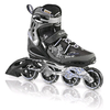 Коньки роликовые женские Rollerblade Spark 80 W Alu 2013 черно-серебристые - р. 36 - фото 1