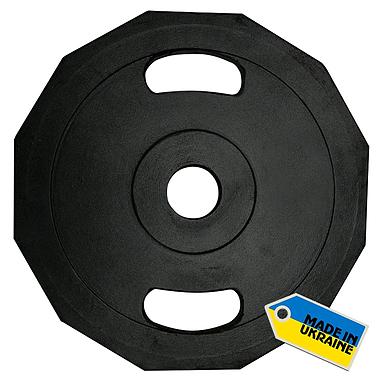 Диск олимпийский 20 кг Newt с хватами - 51 мм