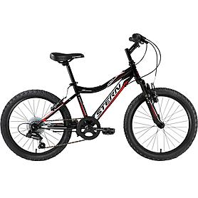 """Велосипед подростковый Stern Attack 20"""" 2015 черно-белый"""