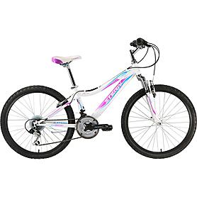 """Велосипед подростковый Stern Leeloo 24"""" 2015 бело-розовый"""