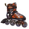 Коньки роликовые раздвижные Tempish Racer оранжевые - фото 1