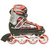 Коньки роликовые раздвижные Kepai F1-S2 красные - фото 1