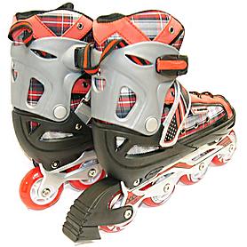 Фото 3 к товару Коньки роликовые раздвижные Kepai F1-S2 красные