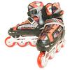 Коньки роликовые раздвижные Kepai F1-S2 красные - фото 4