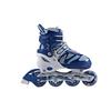 Коньки роликовые раздвижные Joerex JRO0803 сине-белые - фото 1