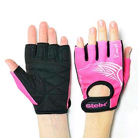 Перчатки спортивные Stein Rouse GLL-2317pink чёрно-розовые, размер M
