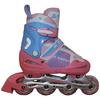 Коньки роликовые раздвижные Kepai F1-K08 розовые - фото 1