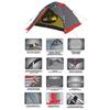Палатка трехместная Tramp Rock 3 - фото 3