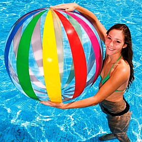 Фото 2 к товару Мяч надувной Intex 59065