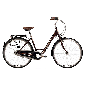 """Велосипед городской Romet Moderne 7 28"""" коричневый рама - 17"""""""