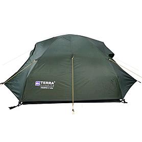 Фото 2 к товару Палатка двухместная Terra Incognita Cresta 2 Alu тёмно-зеленая