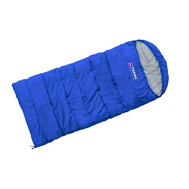 Мешок спальный (спальник) Terra Incognita Asleep 200 JR правый синий