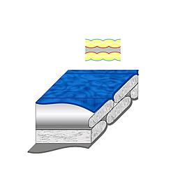 Фото 4 к товару Мешок спальный (спальник) Terra Incognita Pharaon EVO 300 левый сине-черный