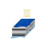 Мешок спальный (спальник) Terra Incognita Termic 1200 левый синий - фото 3