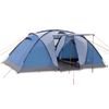 Палатка четырехместная Pinguin Base Camp 4 синяя - фото 1