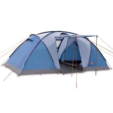 Палатка четырехместная Pinguin Base Camp 4 синяя