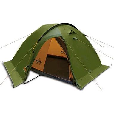 Палатка двухместная Pinguin Vega Extreme (с юбкой) зеленая