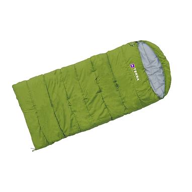 Мешок спальный (спальник) Terra Incognita Asleep 200 JR левый зеленый