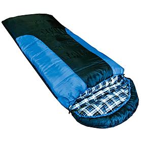 Мешок спальный (спальник) Tramp Balaton правый индиго-черный