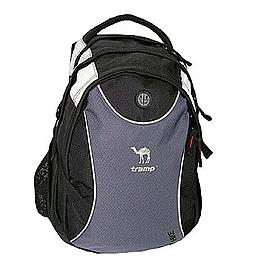 Рюкзак городской Tramp Hike серый с черным