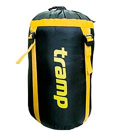 Компрессионный мешок Tramp 15 л черный с желтым