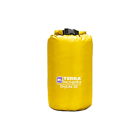 Фото 1 к товару Компрессионный мешок Terra Incognita DryLite 10 желтый
