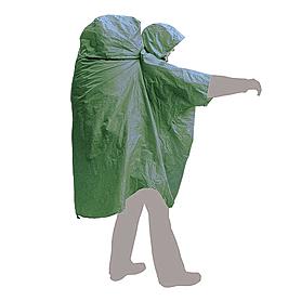 Плащ дождевик Terra Incognita PonchoBag зеленый