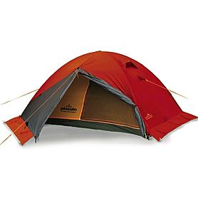 Фото 1 к товару Палатка двухместная Pinguin Gemini 150 Extreme (с юбкой) оранжевая