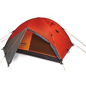 Фото 1 к товару Палатка двухместная Pinguin Gemini 150 Extreme оранжевая