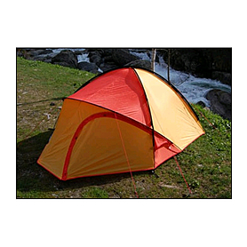 Фото 2 к товару Палатка двухместная Hannah Crag mandarin red/vivid orange