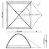 Палатка трехместная Hannah Compact 3 cypress - фото 2