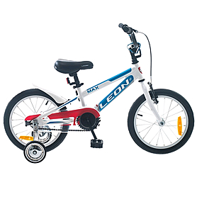 "Велосипед детский Leon Max 16"" 2014 белый"