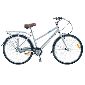 "Велосипед городской Leon Solaris Lady 26"" 2014 белый, рама - 17"""
