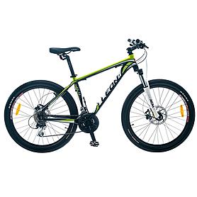 """Велосипед горный Leon XC 75 26"""" 2014 черно-зеленый, рама - 17"""""""