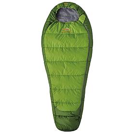Мешок спальный (спальник) трёхсезонный Pinguin Mistral Junior правый зеленый