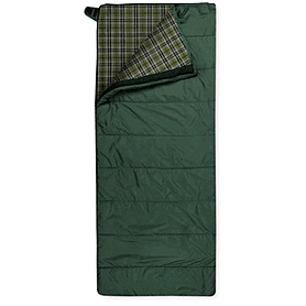 Фото 1 к товару Мешок спальный (спальник) Trimm Tramp 195 правый зеленый