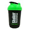Шейкер Smart Shake 600 мл черно-зеленый - фото 1