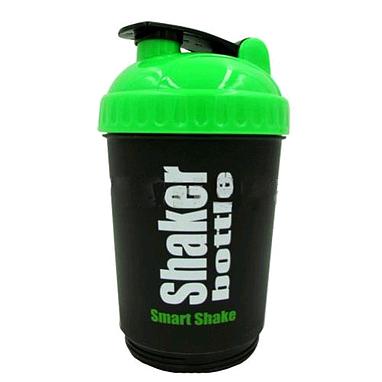 Шейкер Smart Shake 600 мл черно-зеленый